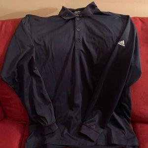 Adidas golf long sleeve polo shirt